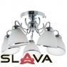 Люстра потолочная белая на 5 конусных ламп (MT003/5)