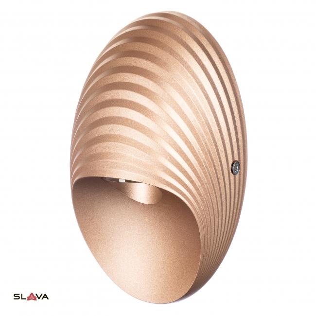 Декоративная подсветка золотая LED 10W (HS005/gd-10w)