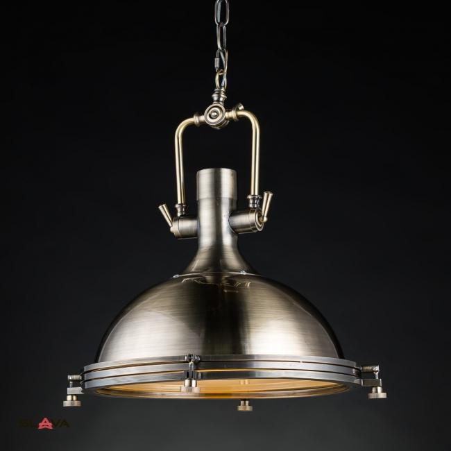 Люстра подвесная бронзового цвета в стиле стимпанк (ZD021/A)