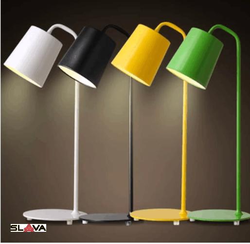 Настольная лампа классическая в 4х цветах (ZD014TW)